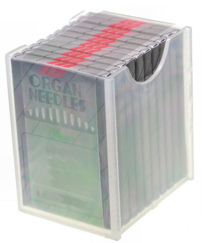 ORGAN NEEDLES - DBX-K5 - 90/14 BALL POINT - CHROME - BOX OF 100 NEEDLES [57790SES]