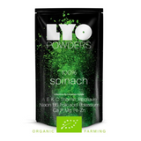 organic spinach powder, lyofood, freeze dried powders, freeze dried food