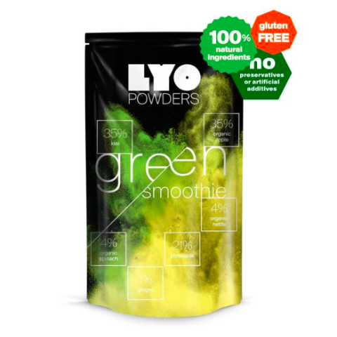 lyofood green smoothie, freeze dried powders