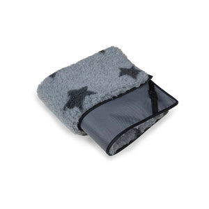 Grey Canvas & Charcoal Star Cosy Topper - HiK9