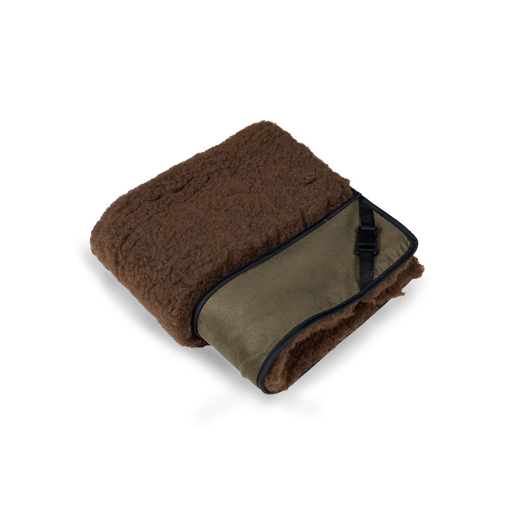 Chocolate Microsuede & Chocolate Luxury Cosy Topper - HiK9