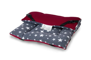 Grey Star & Mulberry Reversible Pad - HiK9