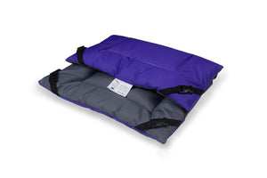Purple & Grey Water Resistant Reversible Pad
