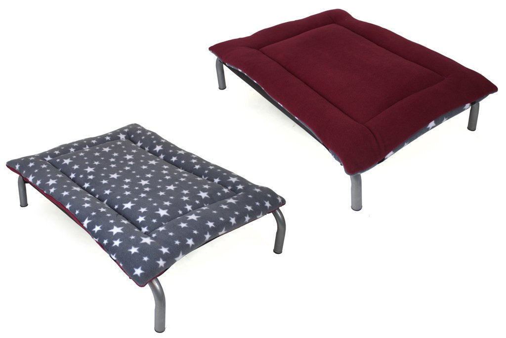 Grey Star & Mulberry Reversible Pad