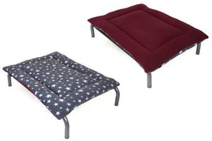 Open image in slideshow, Grey Star & Mulberry Reversible Pad - HiK9