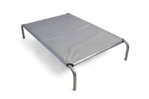 HiK9 Bed with Heavy Duty Silver Mesh Cover - HiK9