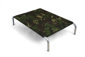 Open image in slideshow, HiK9 Bed with Camouflage Canvas Cover - HiK9