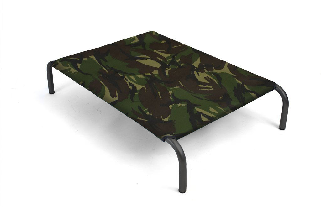 HiK9 Bed with Camouflage Canvas Cover - HiK9