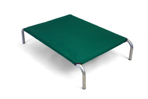HiK9 Bed with Green Canvas Cover