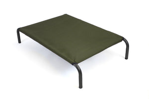 HiK9 Bed with Olive Canvas Cover