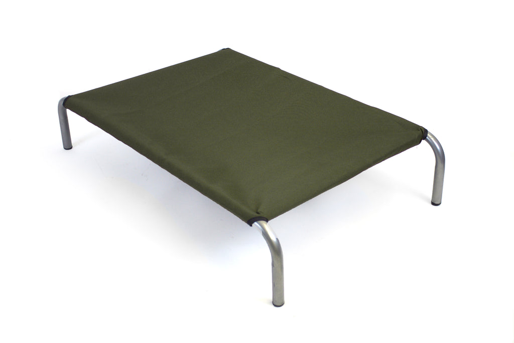 HiK9 Bed with Olive Canvas Cover - HiK9