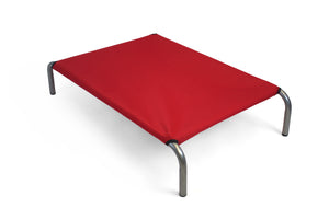 HiK9 Bed with Red Canvas Cover