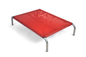 HiK9 Bed with Red Mesh Cover - HiK9