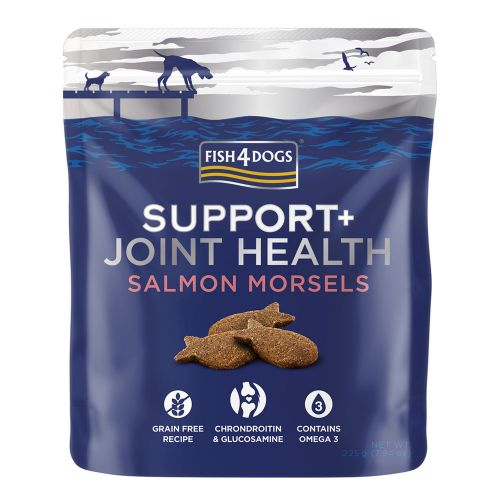 Fish4Dogs Support+ Joint Health Salmon Morsels 225g