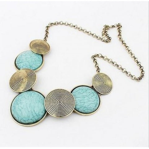 Round Statement Necklace