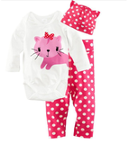 Cute Animal Theme Baby Clothing Set