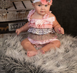 Baby Girl Lace Birthday Outfit