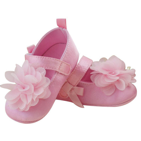 Kids Bowknot Flower Shoes