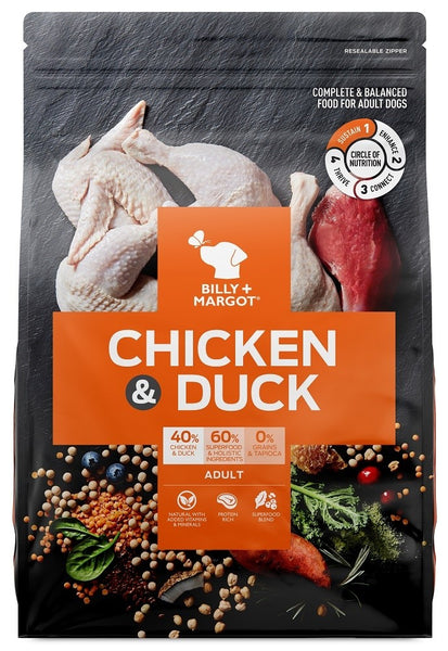Billy & Margot Chicken & Duck Adult Dog Food