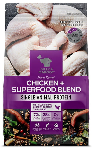Billy & Margot - Chicken Superfood Adult Dog Food