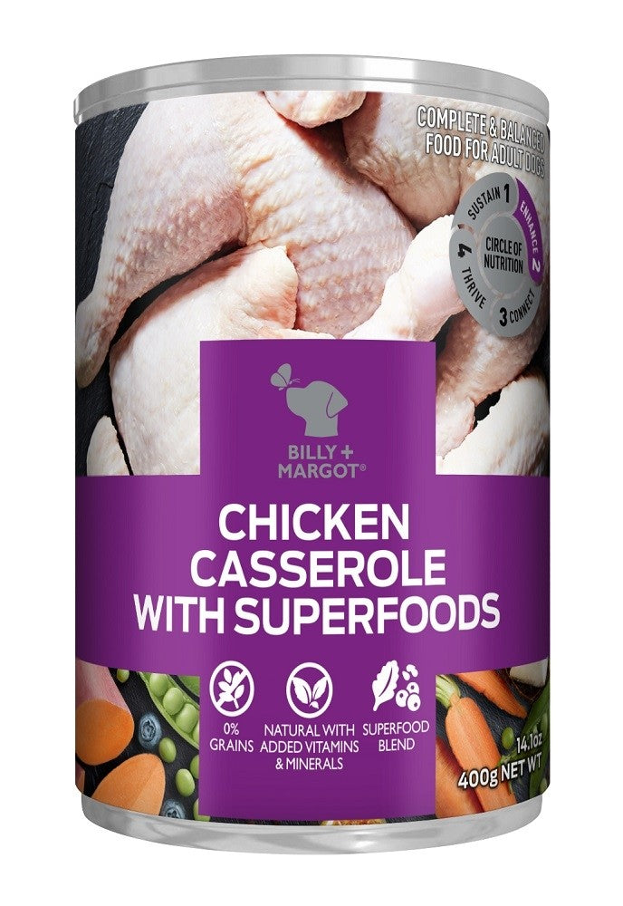 Billy & Margot- Superfoods Cans 12 x 400g