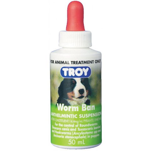 TROY WORM BAN SUSPENSION 50ML