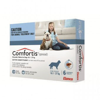 Comfortis for Dogs - 6 Pack