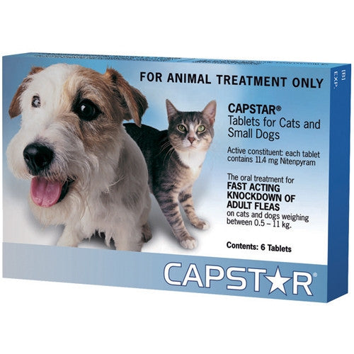 Capstar Tablets for Cats Dogs