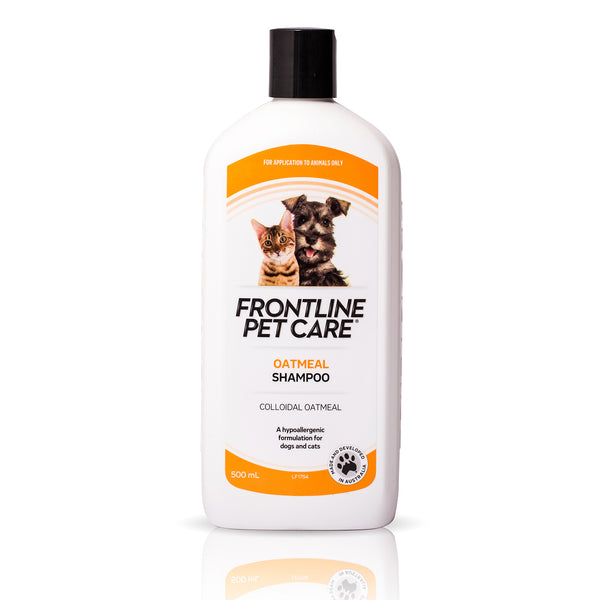 Frontline Pet Care -Oatmeal Shampoo For Dogs And Cats