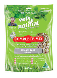 Vets All Natural -Complete Mix 15kg Varieties