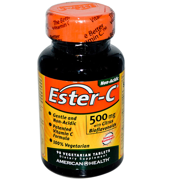 American Health- Ester-C 500 mg 90 Tablets