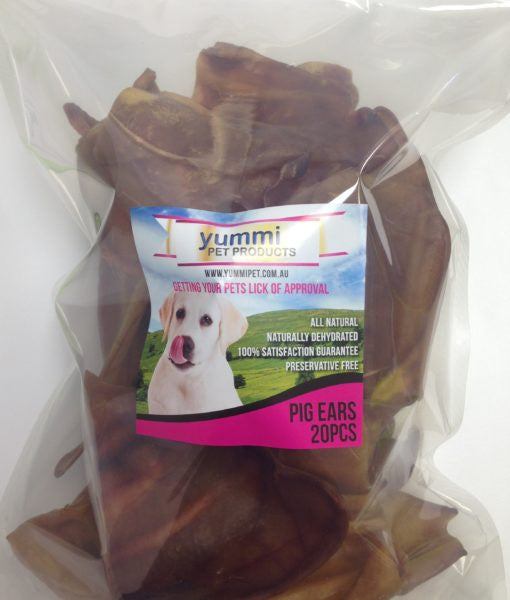 Pigs Ears 20 Pack