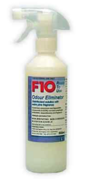 F10 ODOUR ELIMINATOR SPRAY 500mL ~Ready to use Disenfectant~