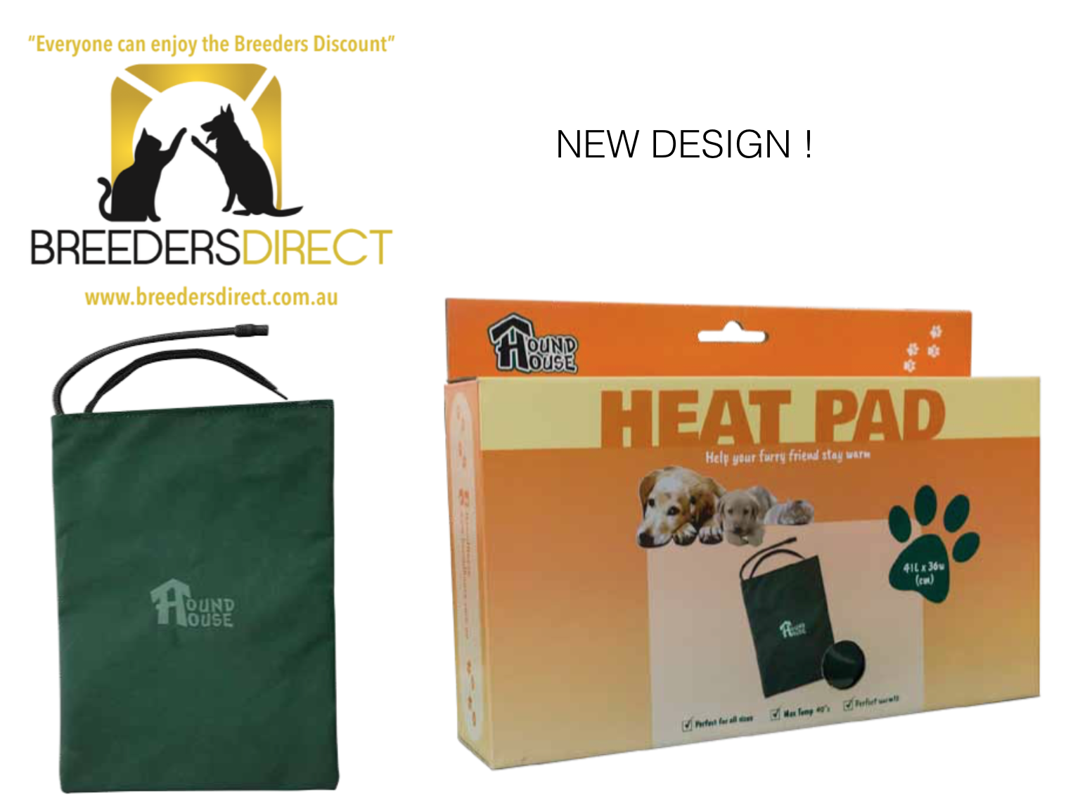 HoundHouse Heat Pad-