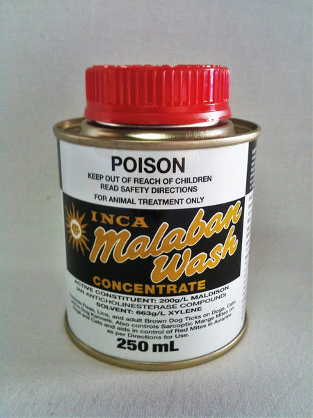 Malaban Wash Concerntrate-  Flea, Lice and Tick Treatment