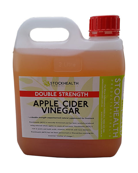Stockhealth - Apple Cider Vinegar 8% Double Strength