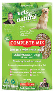 Vets All Natural -Complete Mix 1kg Varieties