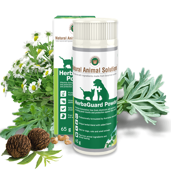 HERBAGUARD POWDER 225ml- Natural Animal Solutions