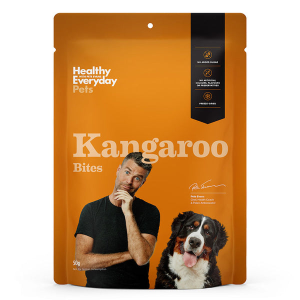 Healthy Everyday Pets- Kangaroo bites 50g