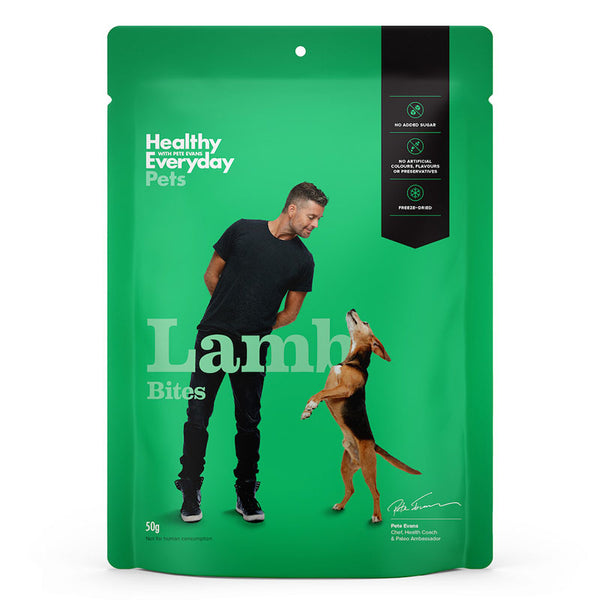 Healthy Everyday Pets- Lamb bites 50g
