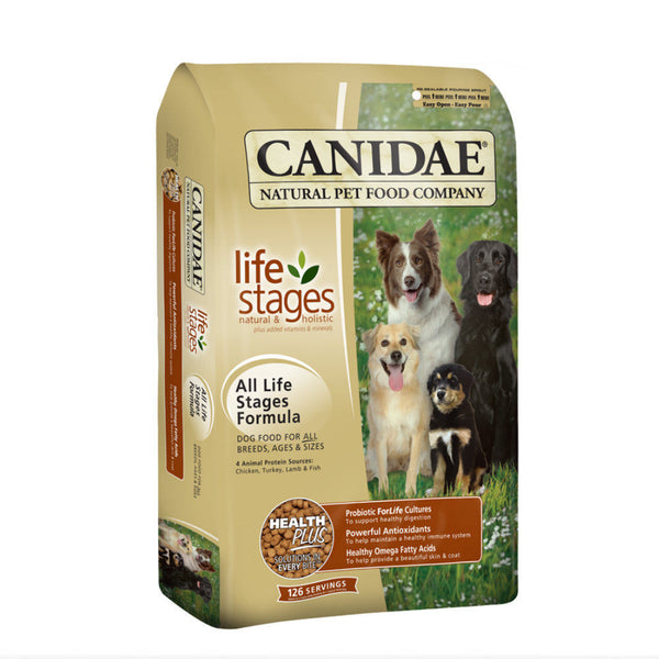 Canidae -All Life Stages Dog Food With Chicken, Turkey, Lamb & Fish Meals 19.9kg