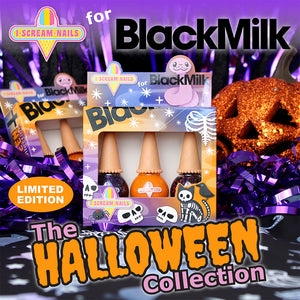 BlackMilk x I Scream Nails - The Halloween Collection