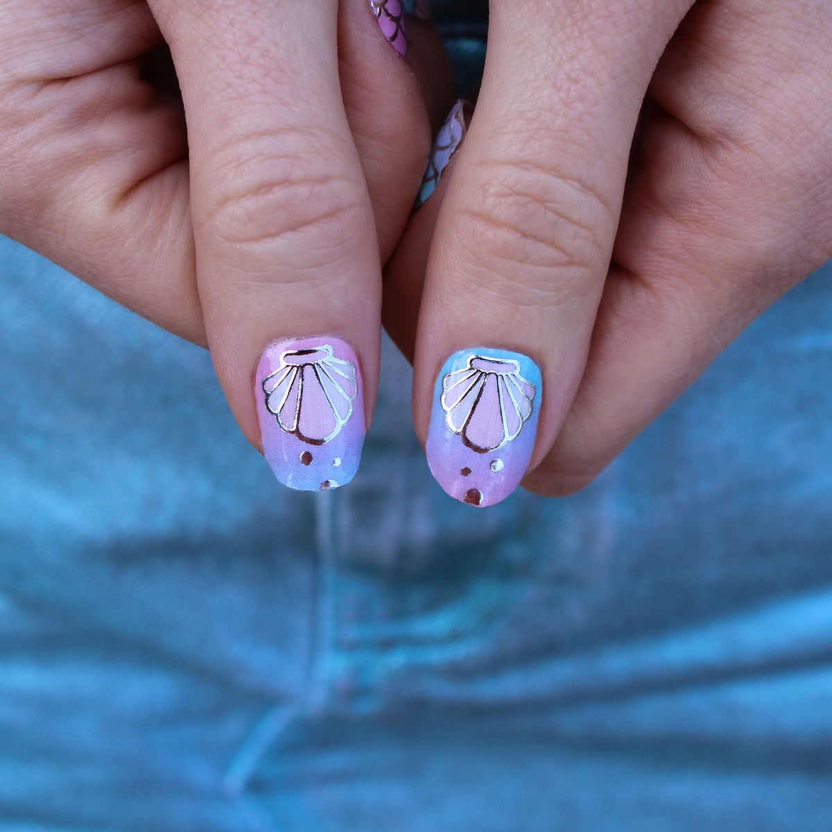 Mermaid Mania Nail Wraps