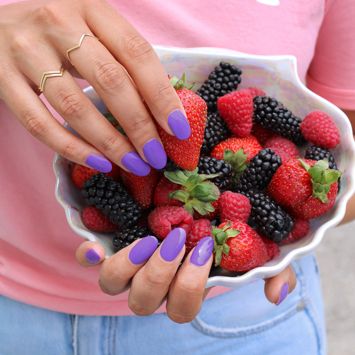 Badass Berry Nail Polish