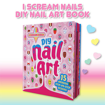 I Scream Nails DIY Nail Art Book
