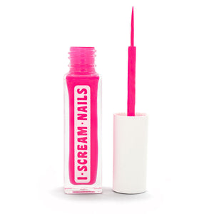 Brush with Fame - CAUTION (pink) nail art striper brush