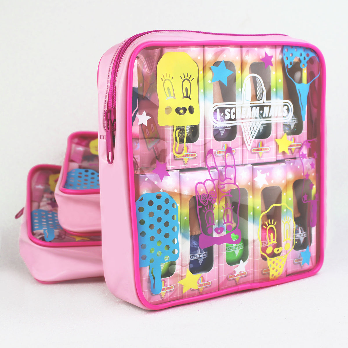 I Scream Nails Cosmetics Bag