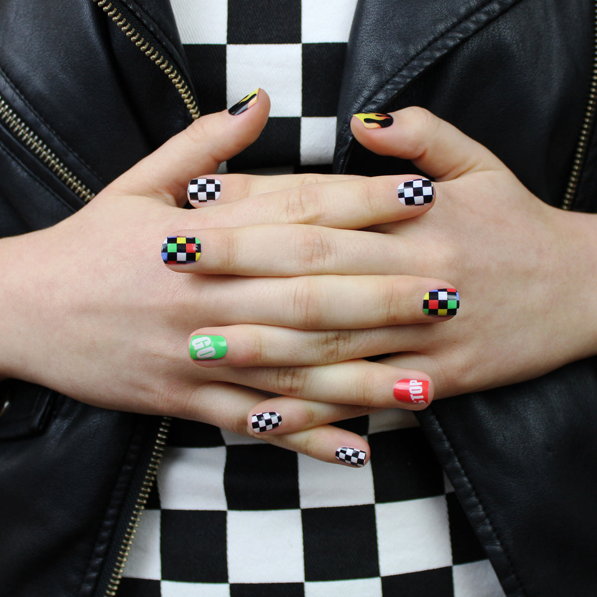 The Fast Lane Nail Wraps