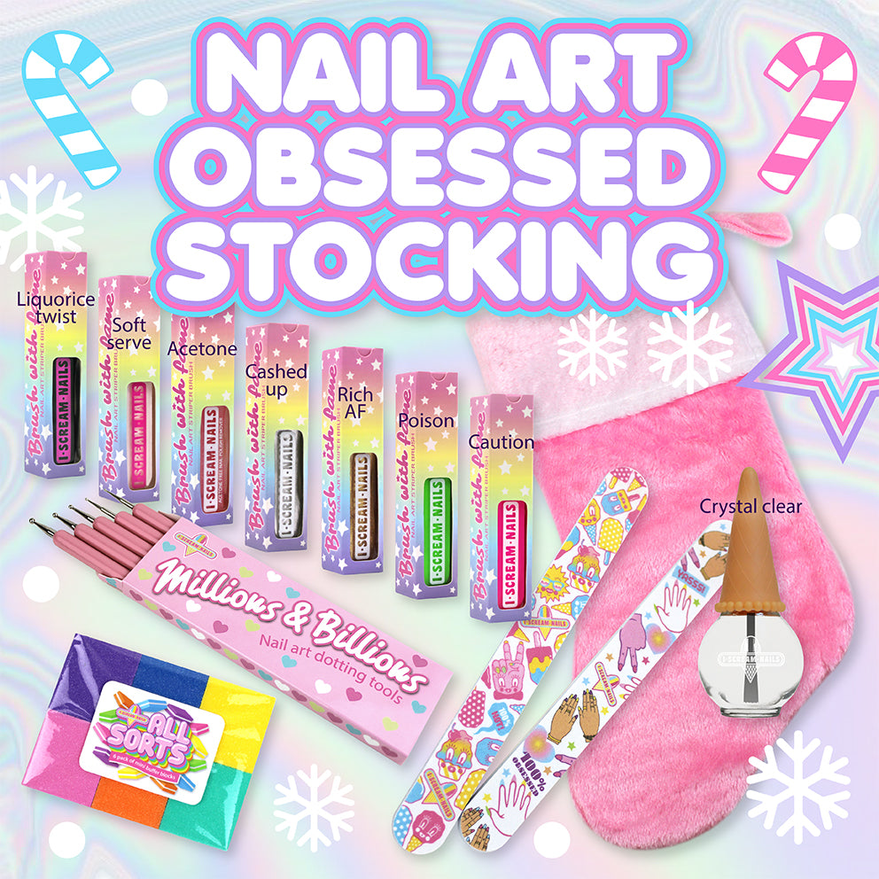 Nail Art Obsessed Stocking