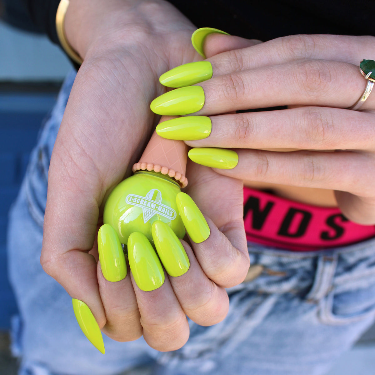 Sublime Lime Nail Polish